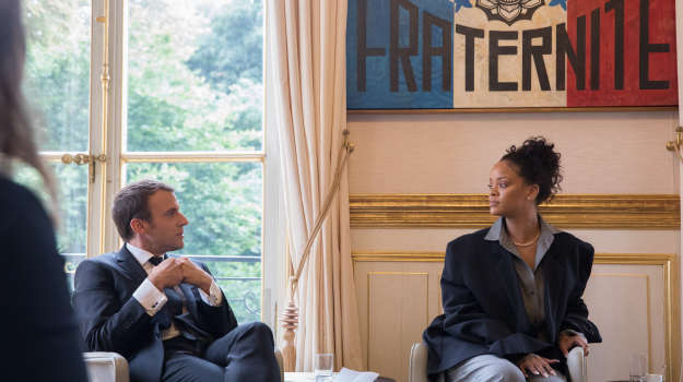 Rihanna Helps World Leaders Raise Billions $$ For Education