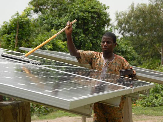 Rwanda the solar plant agahozo increases national energy capacity by 6 me - Fours solaires en afrique ...