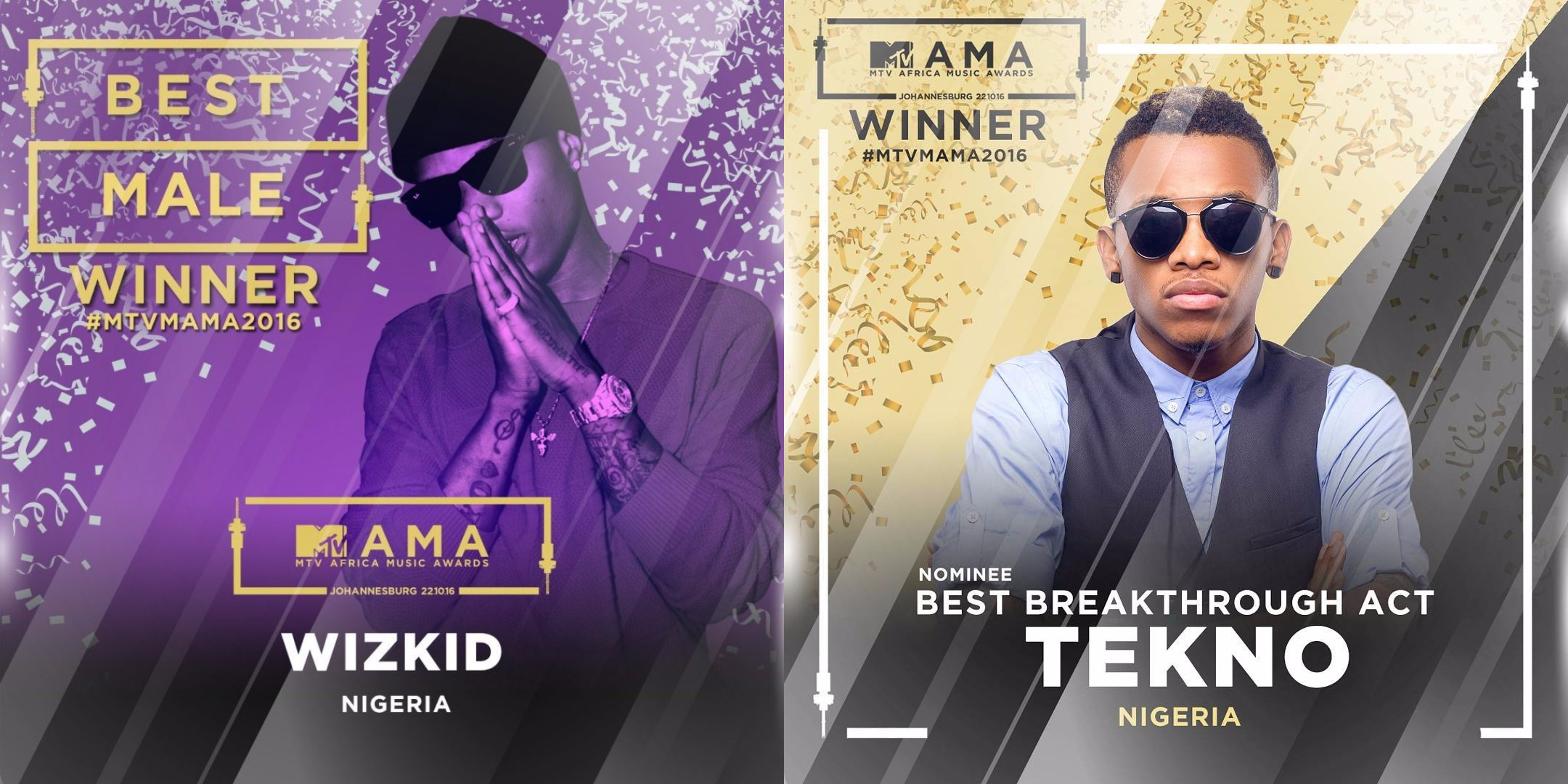 Nigeria's Wizkid Crowned with 3 Awards in MTV Africa Music
