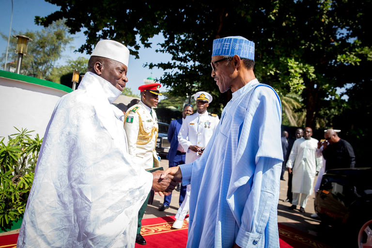AU to cease recognising Jammeh as Gambia's President