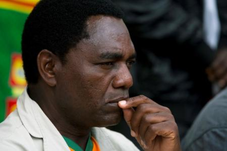Zambia's Main Opposition Leader Charged With Treason