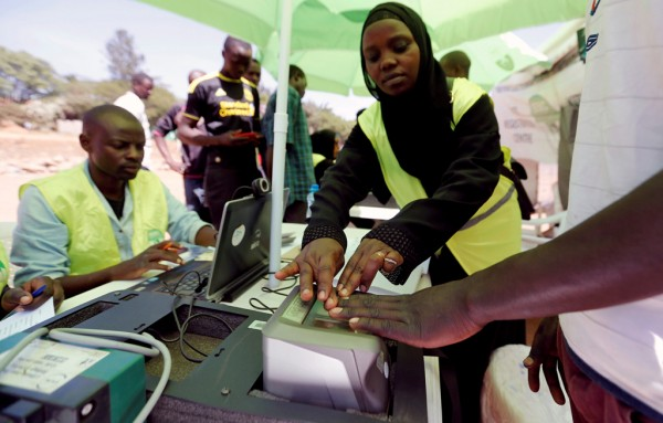 Eight candidates in the running for Kenya presidency