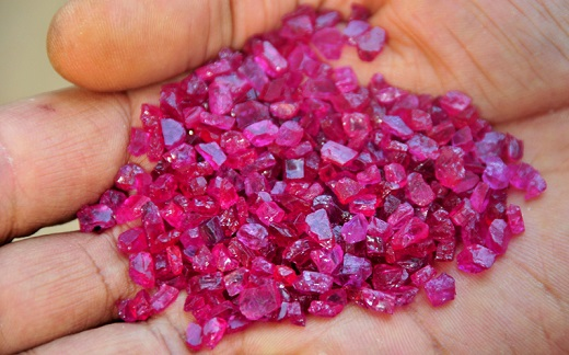 mozambique gemfields achieves record revenues at ruby auction