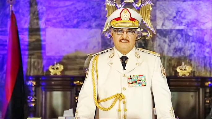 Libyan eastern commander arrives in UAE after alleged victory in Benghazi