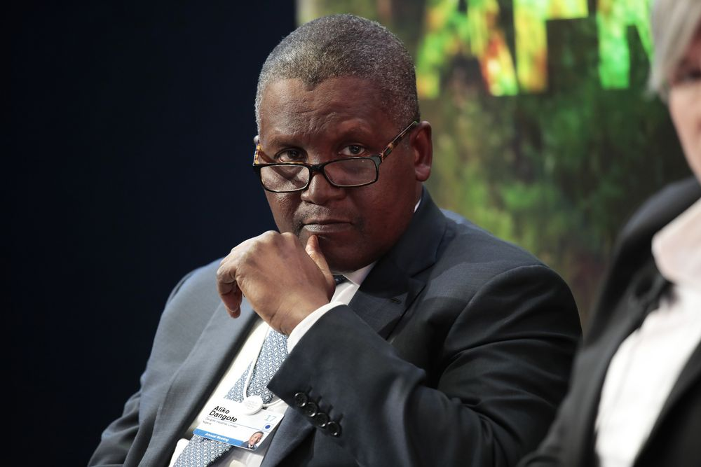 Aliko Dangote, Africa's richest man, wants to buy Arsenal, sack Wenger
