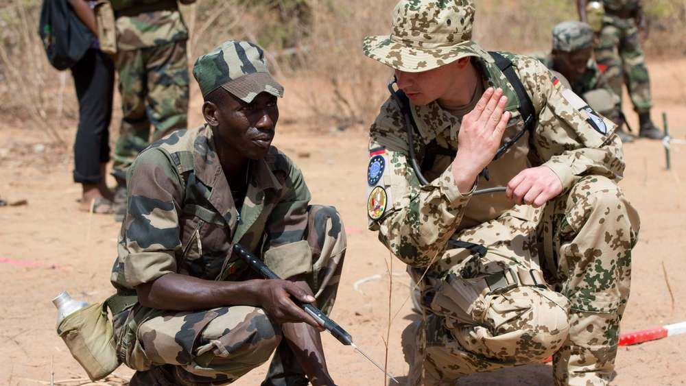 Germany to train Burkina Faso soldiers — Surge in terrorism