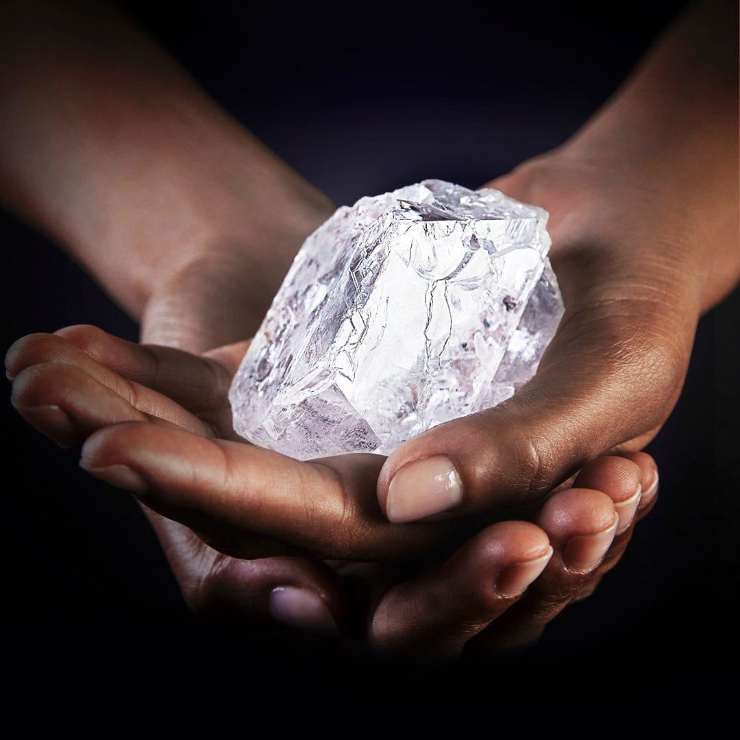 World S Second Biggest Diamond From Botswana Sold For 53m