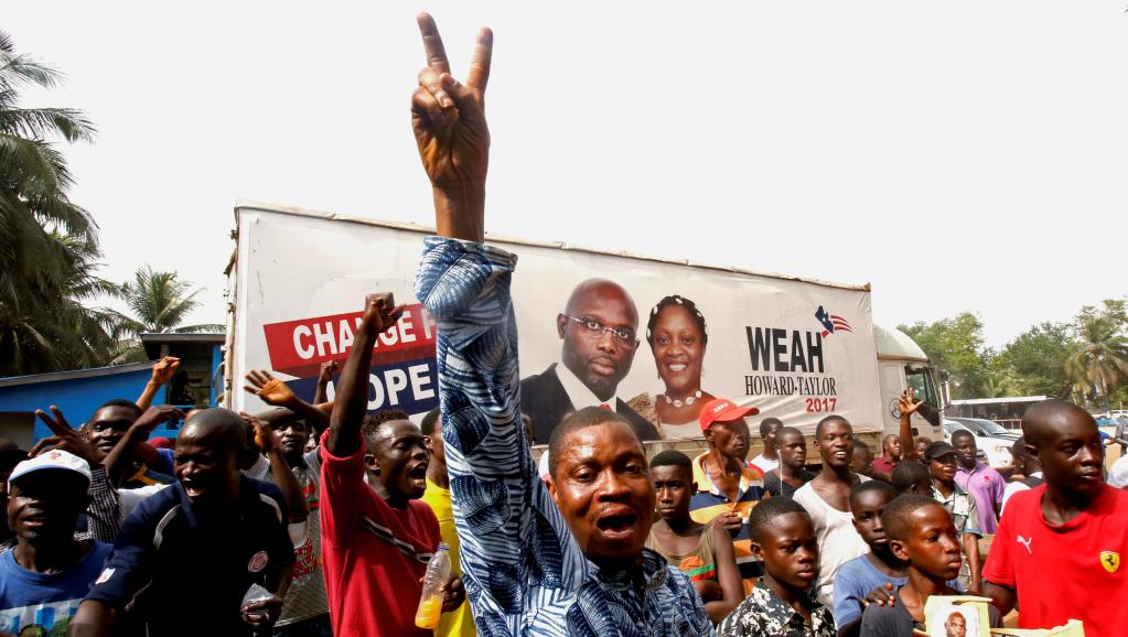 Liberia president-elect says he will build on nation's gains