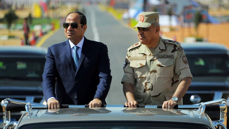 Egypt's parliament urges Sisi to run again for president