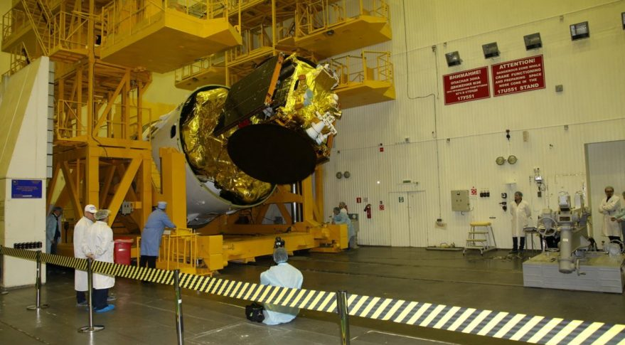 Angola starts building its new space satellite