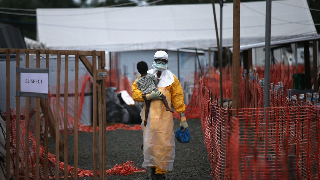 Congo receives first doses of Ebola vaccine as outbreak hits urban centre