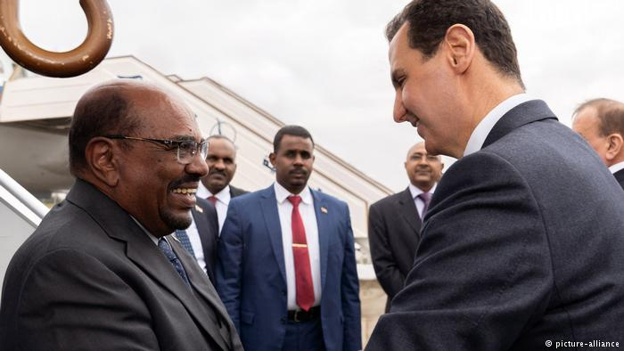 Syrian, Sudanese Leaders Discuss Bilateral Ties, Situation in Syria