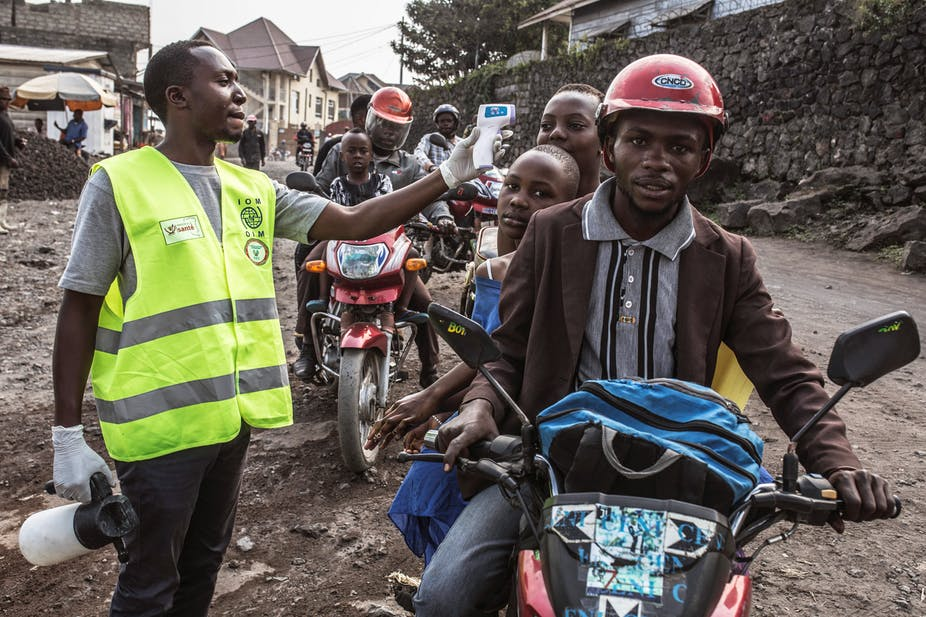 Congolese student with Ebola still finds a way to sit exams